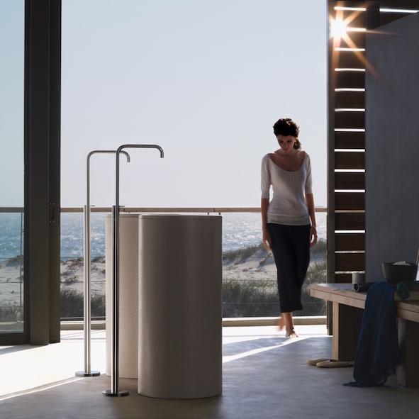 freistehender waschtisch einhebelmischer fs2. Black Bedroom Furniture Sets. Home Design Ideas