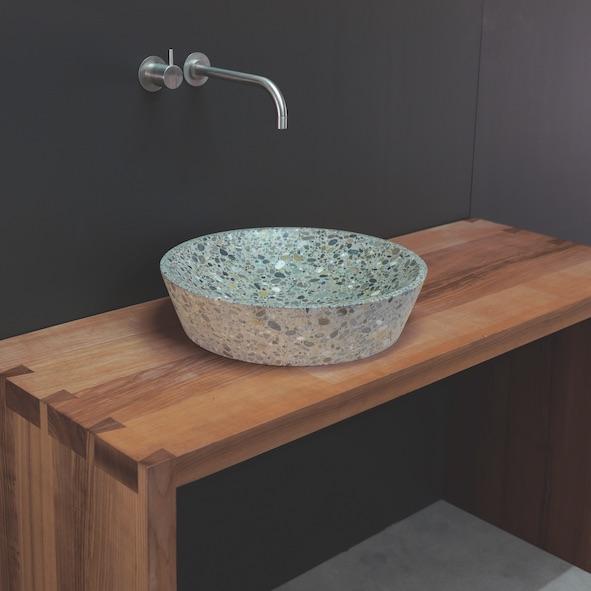 waschbecken beton. Black Bedroom Furniture Sets. Home Design Ideas