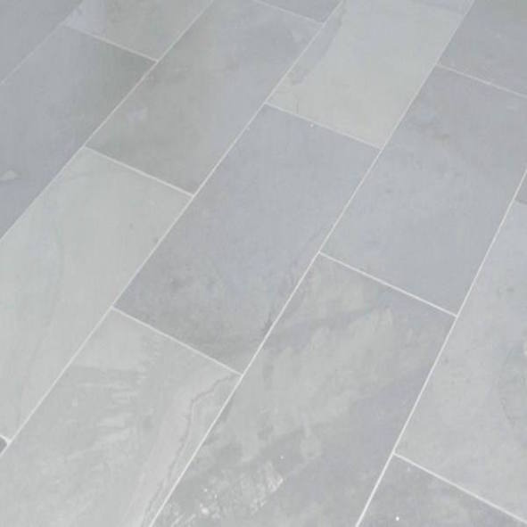 Naturstein Bodenplatten In Schiefer Grau
